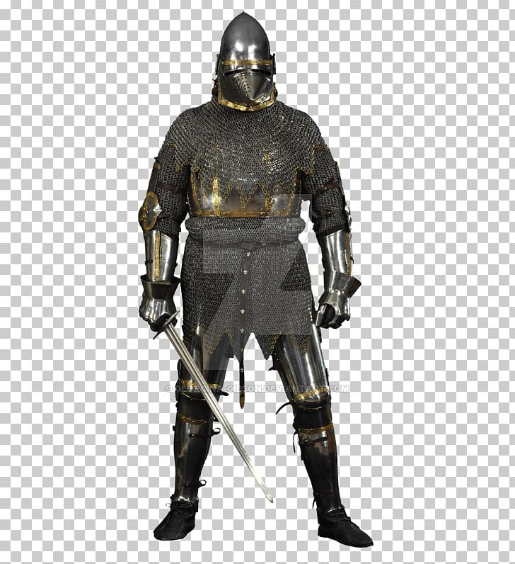 Middle Ages Knight Cuirass Components Of Medieval Armour.