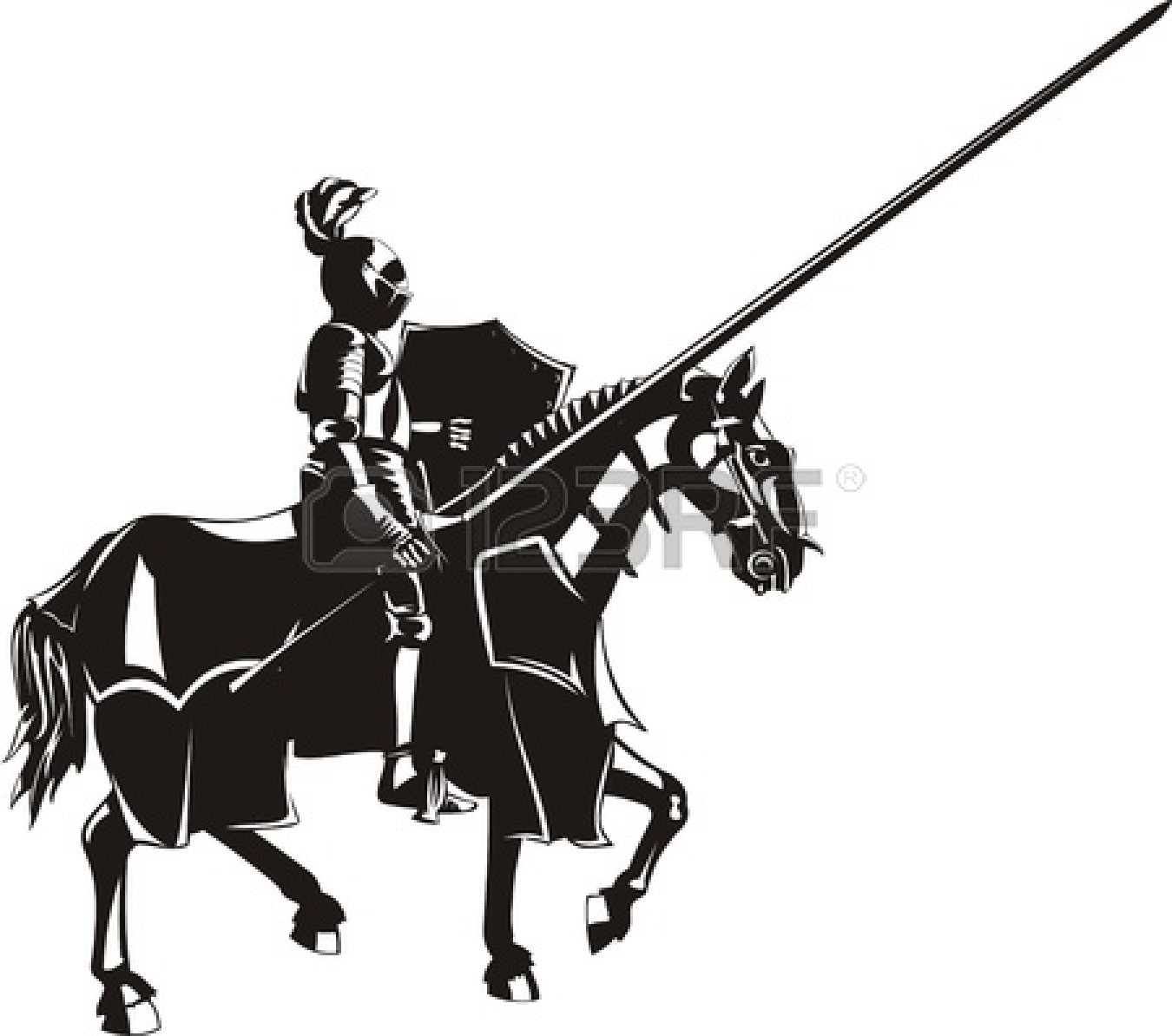 Similiar Medieval Knight Vector Art Keywords.