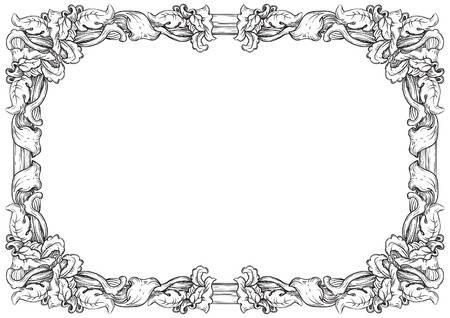 Medieval Border Designs Free Download Clip Art.