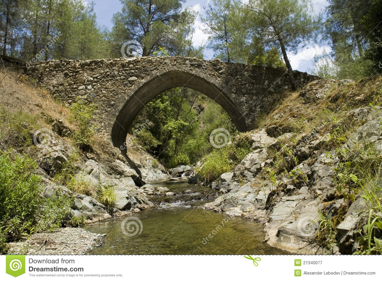 Medieval Bridge Clipart#2108403.