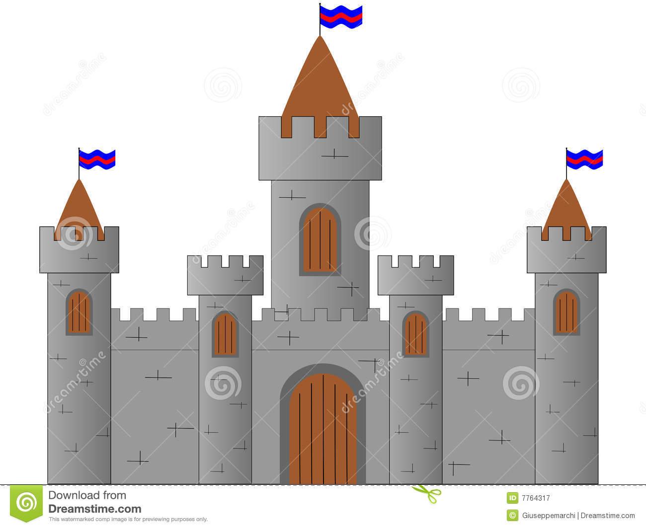 Clipart medieval castle.