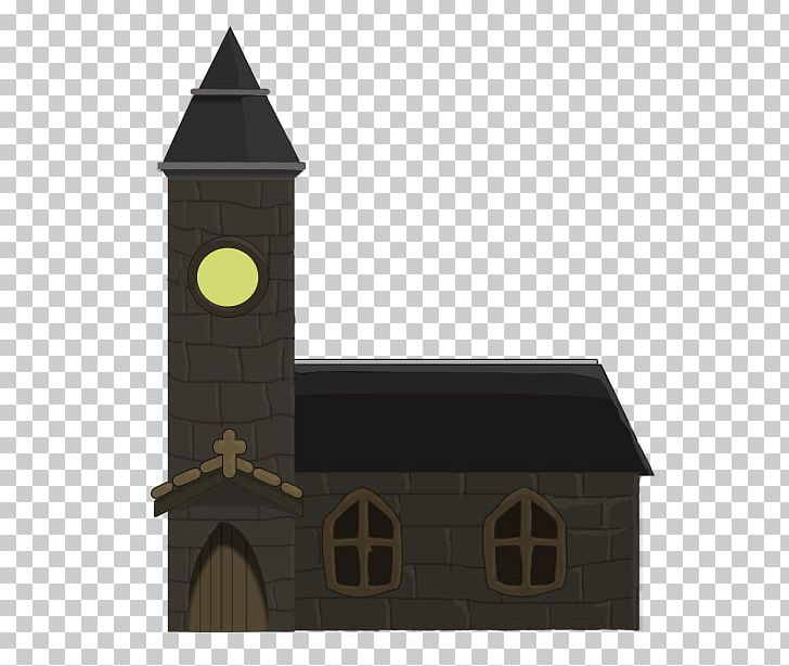 Middle Ages Medieval Church PNG, Clipart, Building, Cartoon.