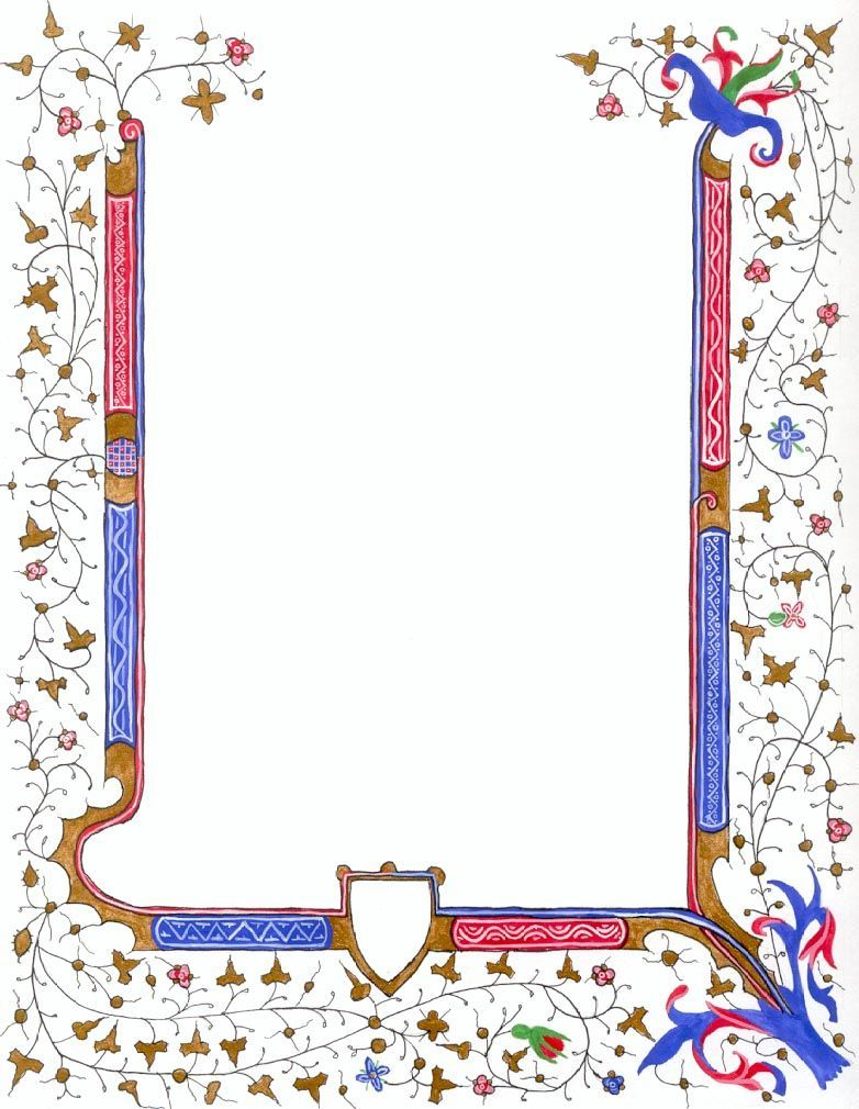 Image result for medieval border clipart.