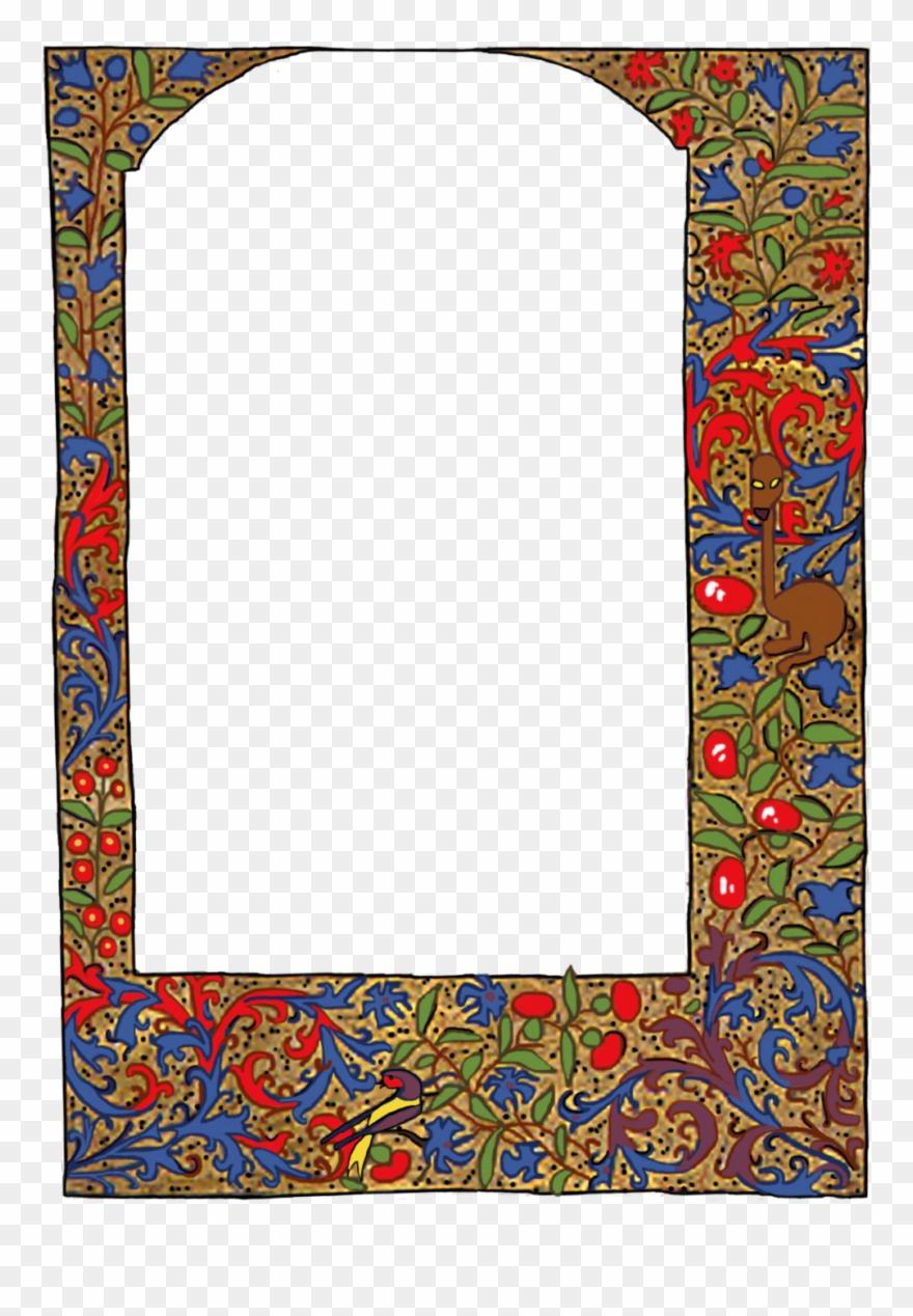 Medieval Border Frame Clipart (#2433753).