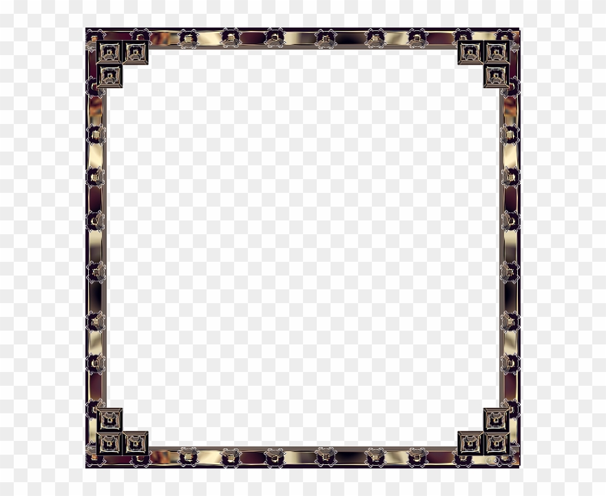 Medieval Border Frame Brown And White Photo Medieval.