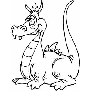 Dragon clipart.
