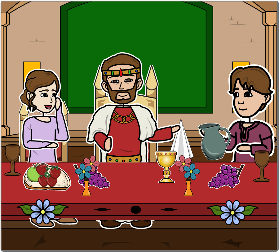 A Medieval Feast Lesson Plan & Activities.