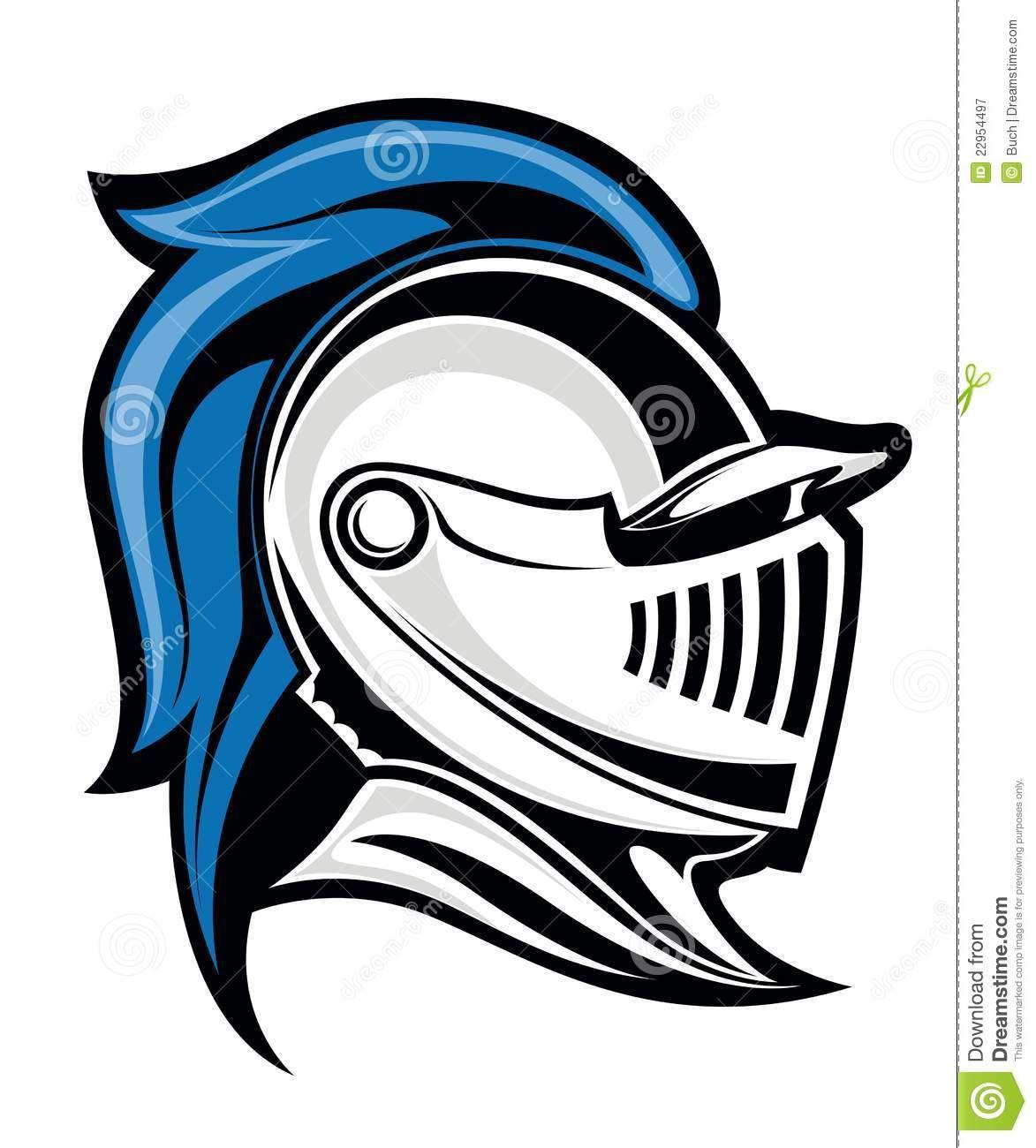 Medieval Helmet Clip Art.