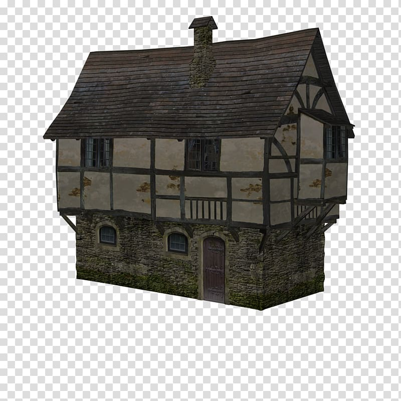 Hut clipart medieval house, Hut medieval house Transparent.