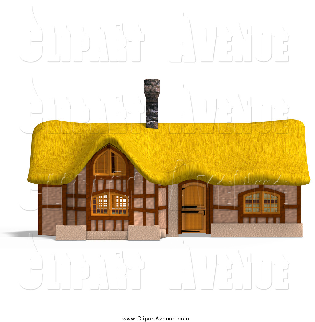 Medieval house clipart.