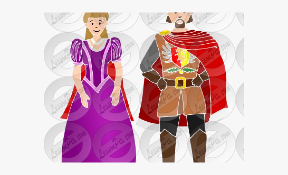 Queen Clipart Medieval King Queen.