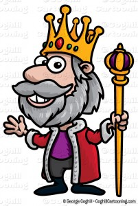 Medieval King Clipart.