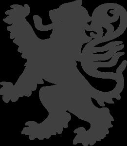 Grey Lion Clip Art at Clker.com.