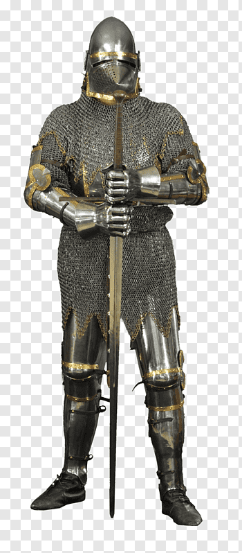 Components Of Medieval Armour cutout PNG & clipart images.