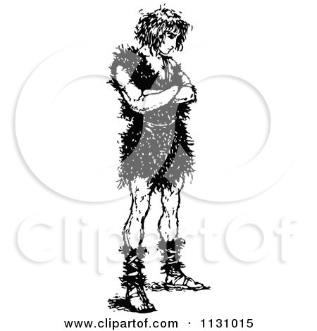 Clipart Medieval Man Waiting For A Princess.