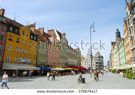 Wroclaw Stock Photos, Royalty.