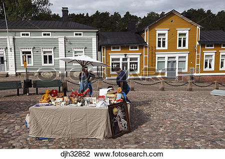 Stock Photo of Finland, Southern Finland, Eastern Uusimaa, Porvoo.