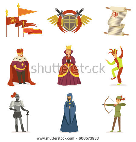 Medieval Period Stock Images, Royalty.