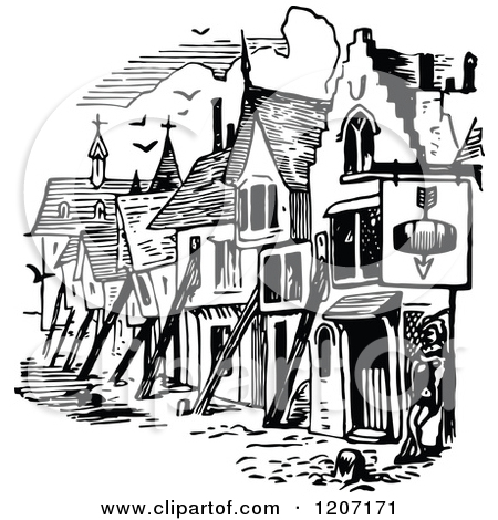 Medieval place clipart - Clipground