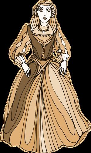 Medieval princess image.