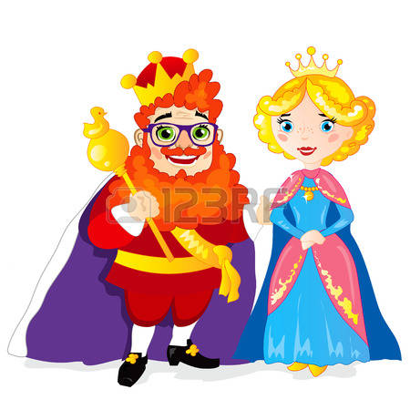 Medieval King And Queen Clipart.