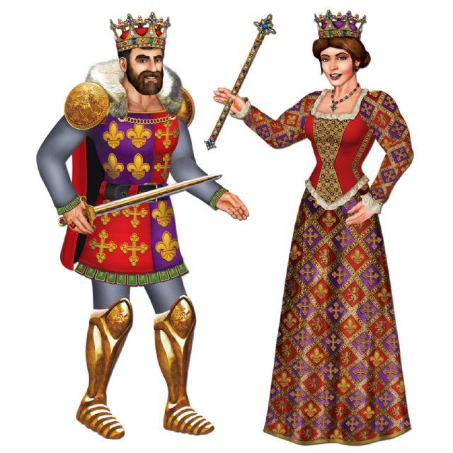 Medieval queen clipart.