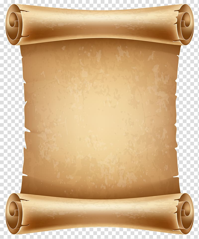 Paper Scroll Parchment , others transparent background PNG.