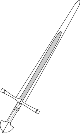Showing post & media for Cartoon medieval sword clip art.