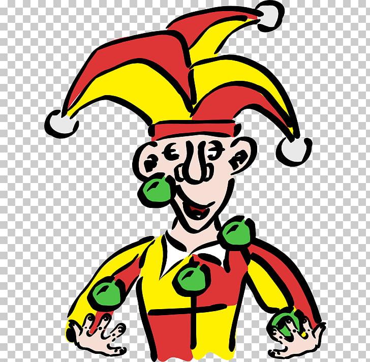 Joker Middle Ages Jester Clip art.