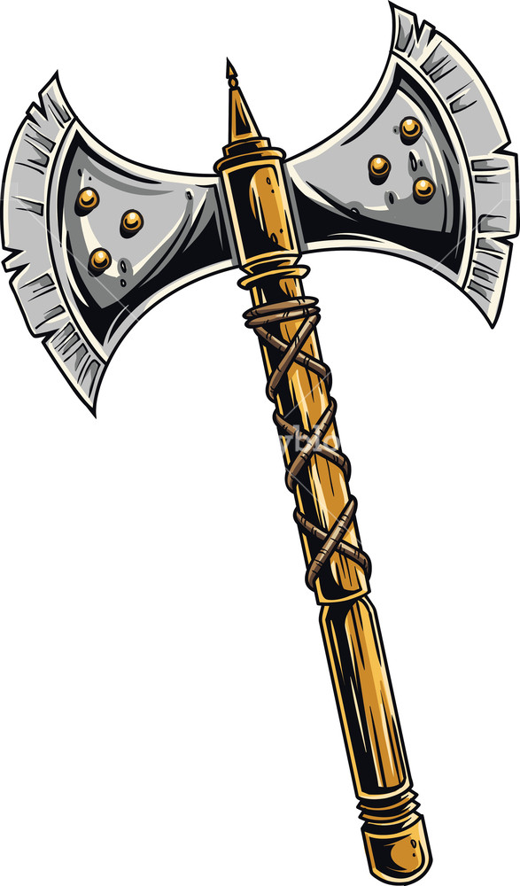 Medieval Weapons Vector Element Royalty.