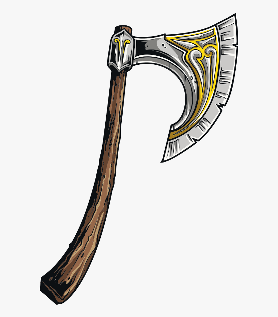 Middle Ages Weapon Ax Transprent Png Free.