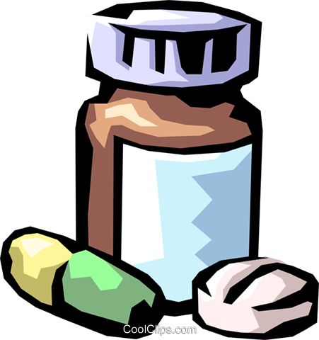 prescription medicine Royalty Free Vector Clip Art.