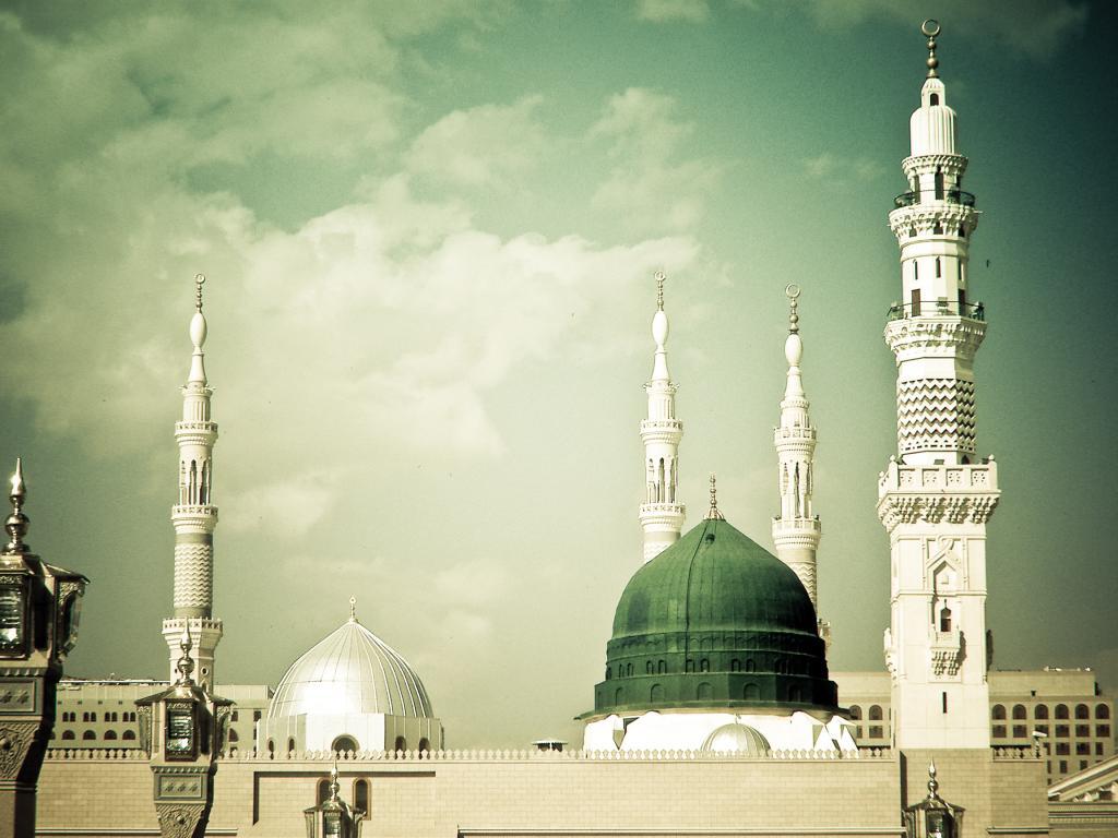 Clipart masjid nabawi.