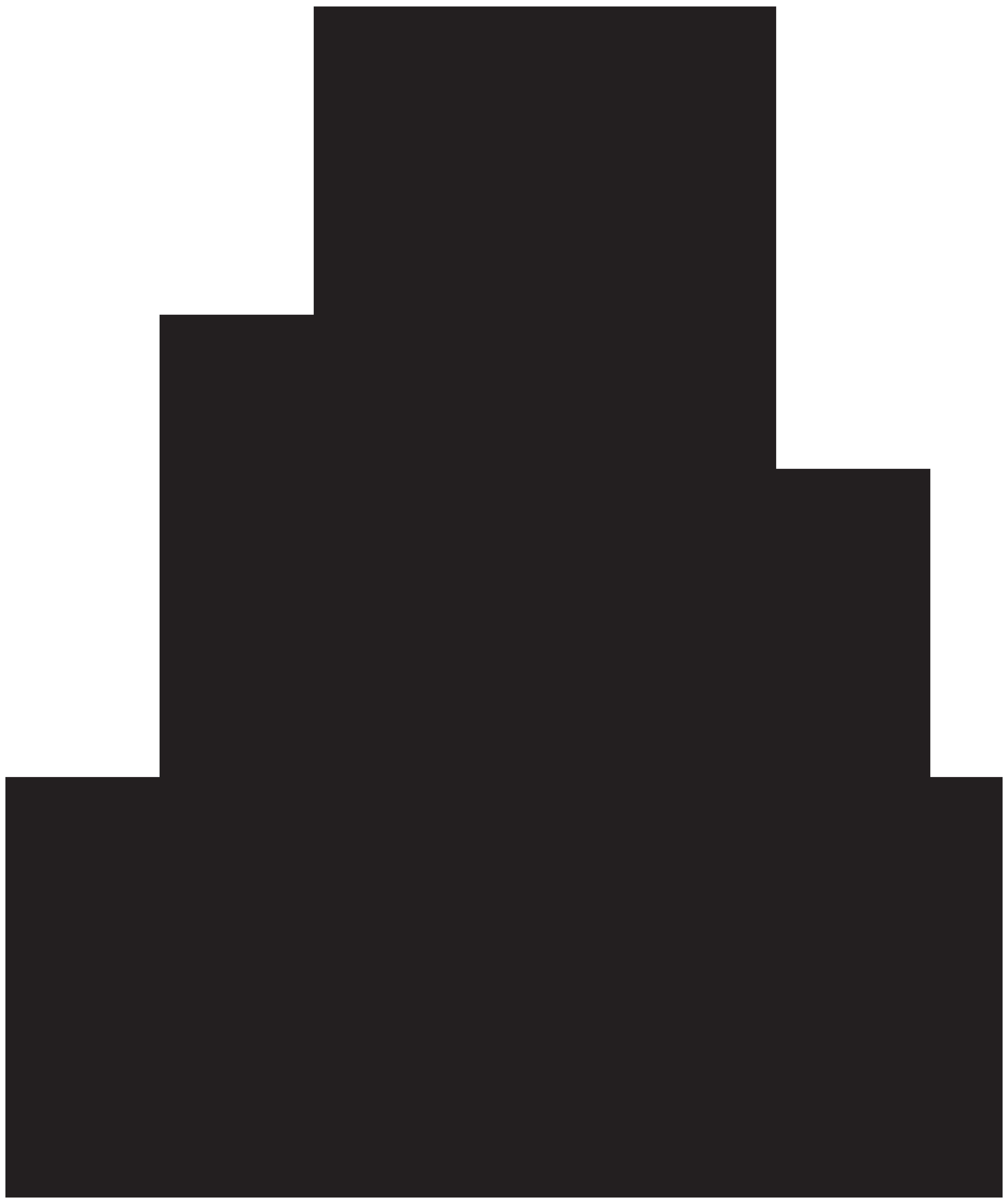 Meditate Silhouette PNG Clip Art.