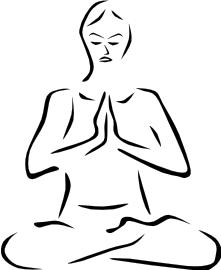Meditation Clip Art Download.