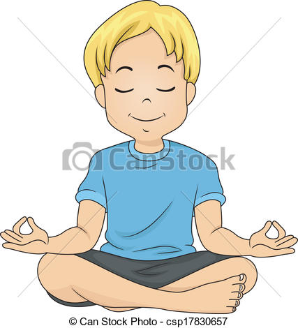 Meditating Stock Illustration Images. 69,164 Meditating.