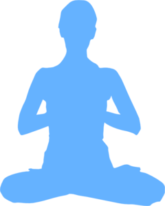 Meditation Clip Art at Clker.com.