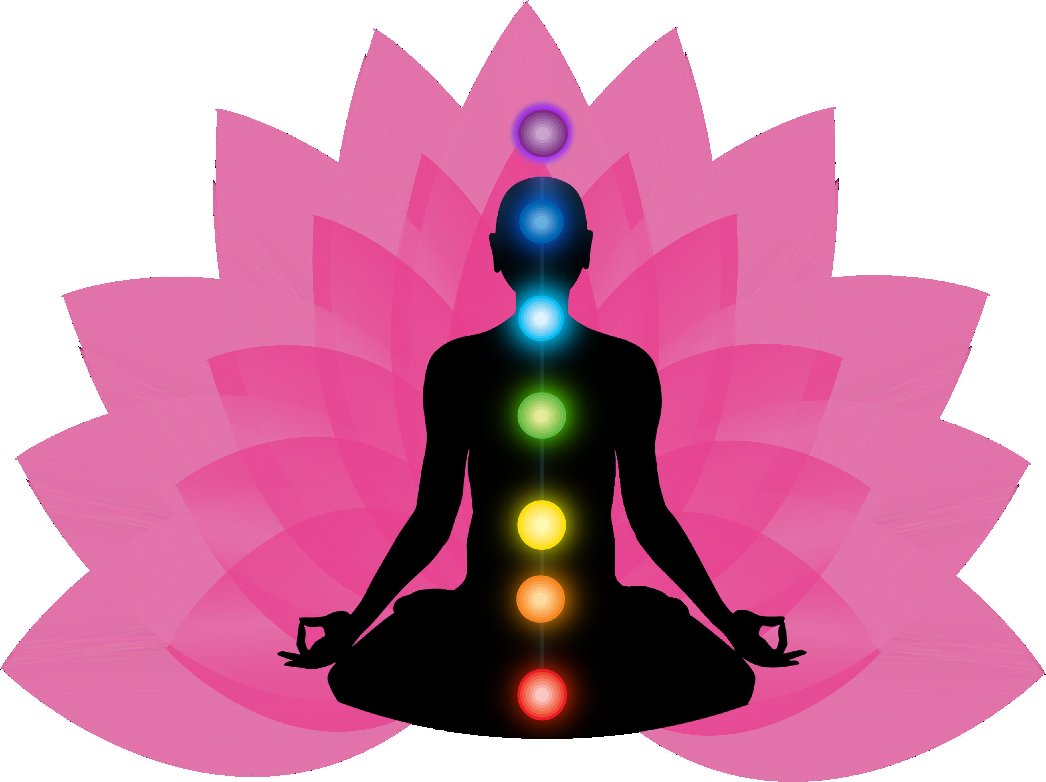 Chakra Meditation PNG Clipart.