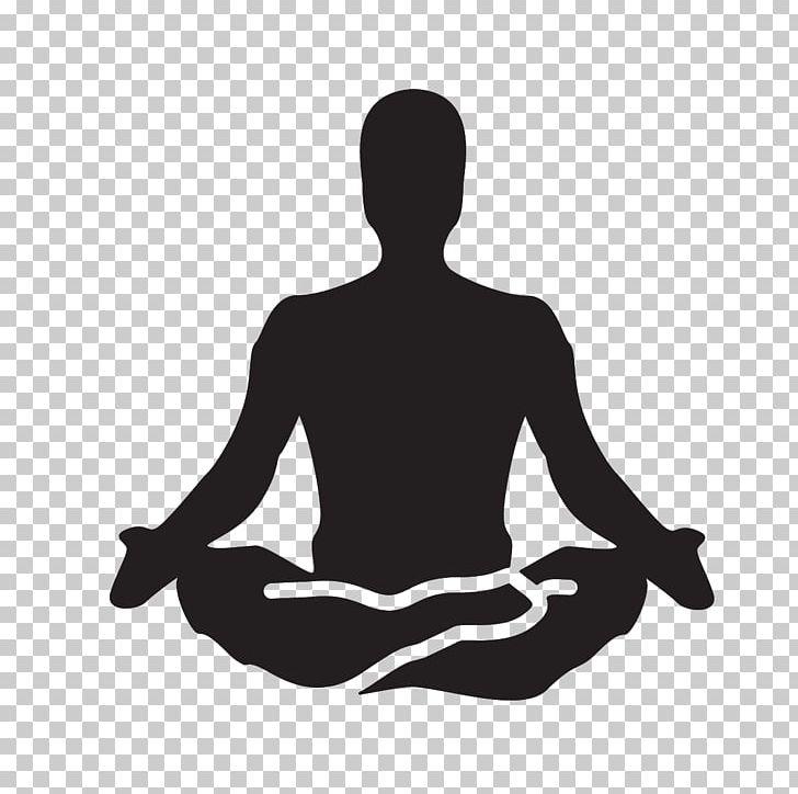 Yoga Meditation PNG, Clipart, Arm, Asana, Black And White.