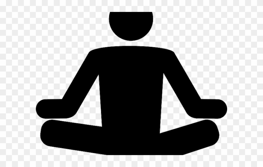 Meditation Clipart Stress Relief.