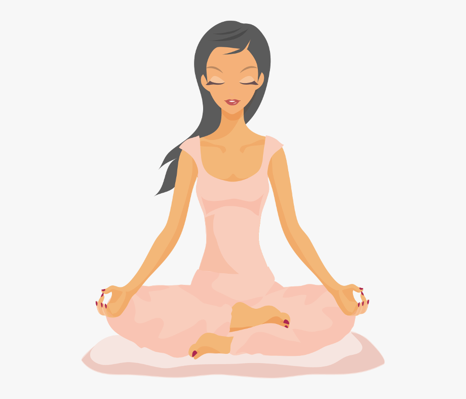 Meditation Clipart Emotional Health.