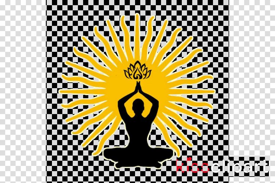 yoga meditation physical fitness logo clip art clipart.