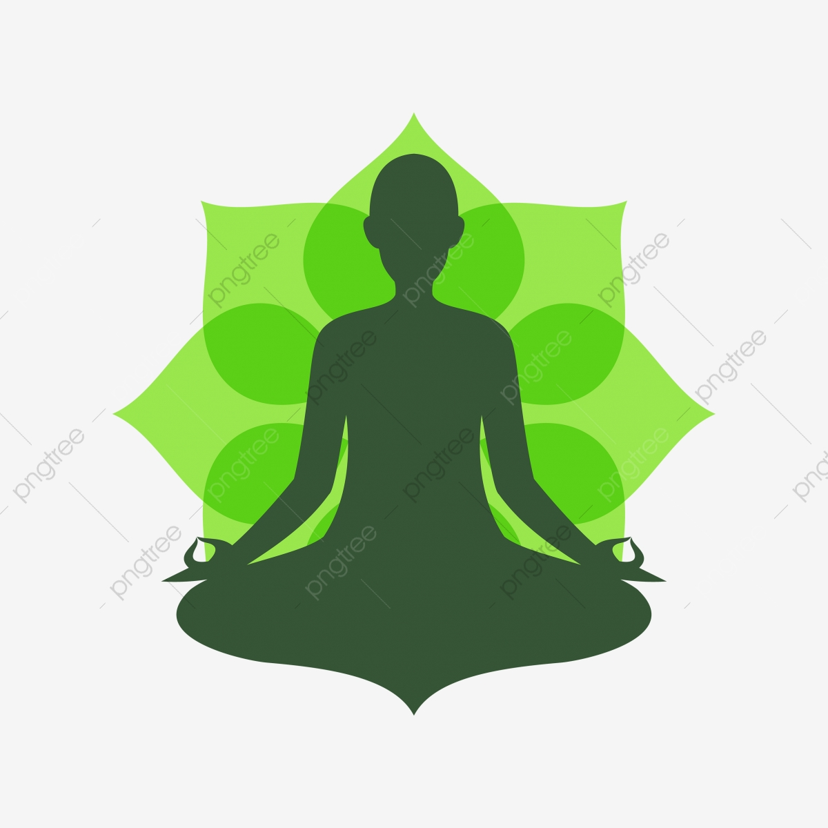 Yoga Meditation 9, Yoga, Meditation, Mandala PNG and Vector.