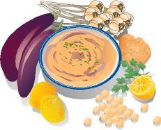 Food Clip Art: FoodShapes Mediterranean Foods CD.