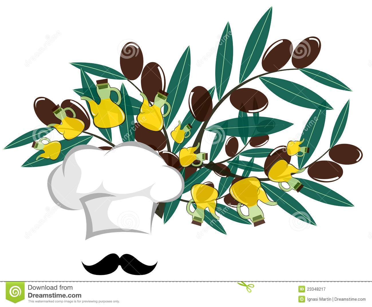 Mediterranean Food Clip Art.