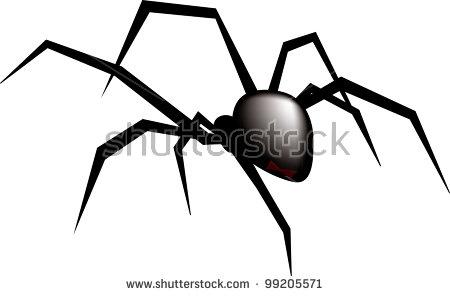 Black Widow Spider Stock Photos, Royalty.