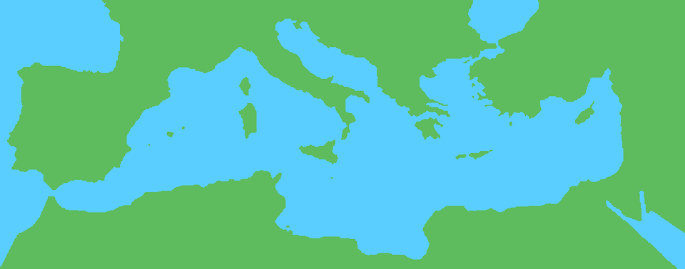 Mediterranean Map Geography.