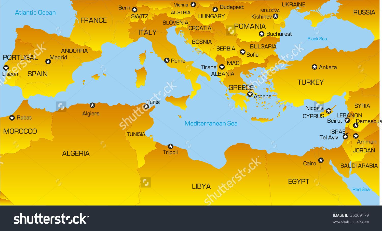The mediterranean sea clipart Clipground