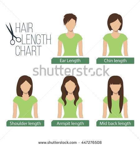 Medium Length Hair Stock Images, Royalty.