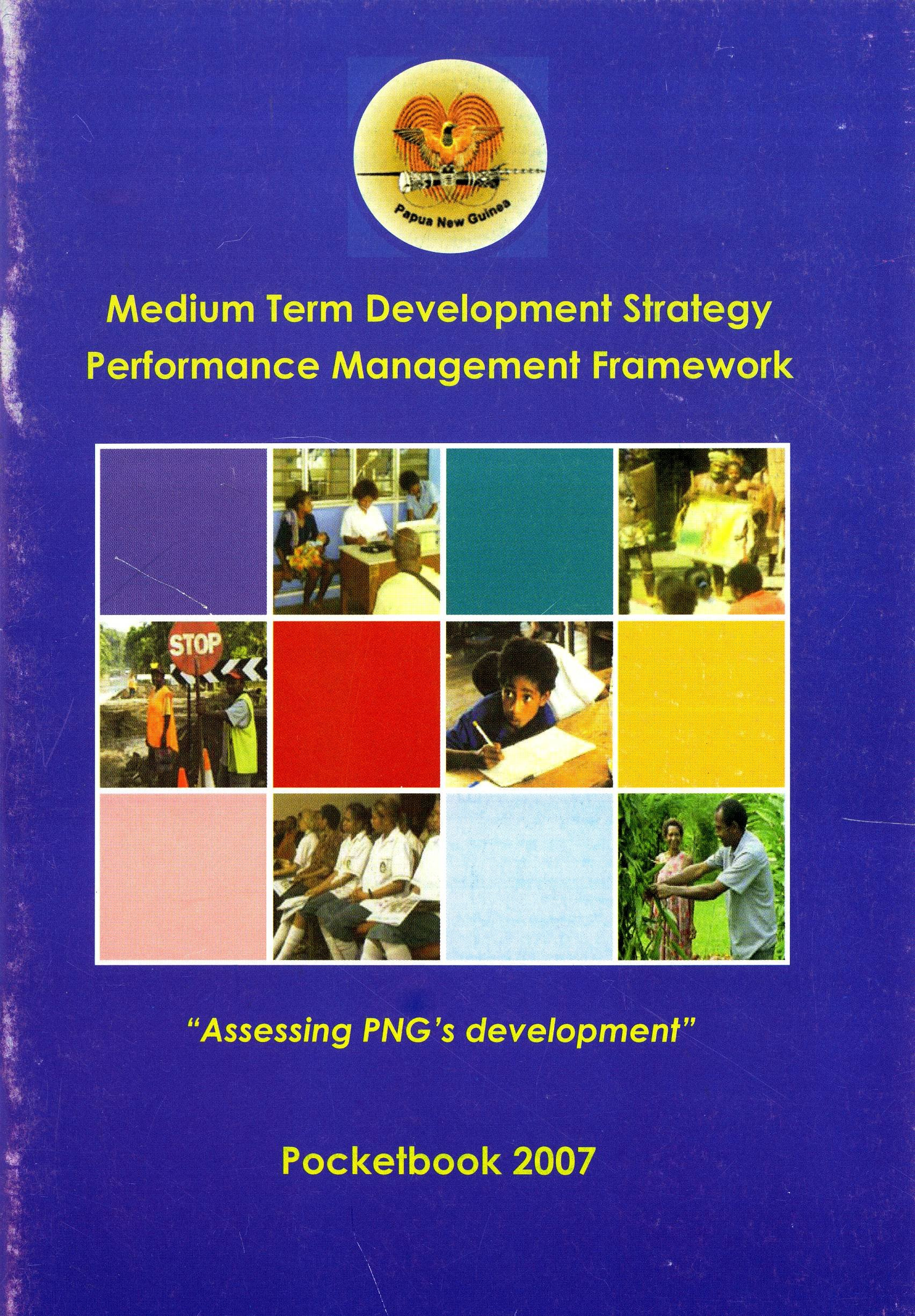 Medium Term Development Strategy: Performance Management.